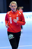 Sandra Toft fra Danmark under VM-playoff-kampen mellem Danmark og Schweiz i Roskilde Kongrescenter Bauhaus Arena, den 1.6.2019. Photo Credit: Allan Jensen/Søren Tidemann/EVENTMEDIA.