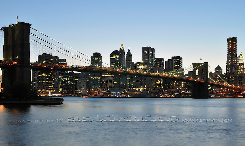 After sunset on East River