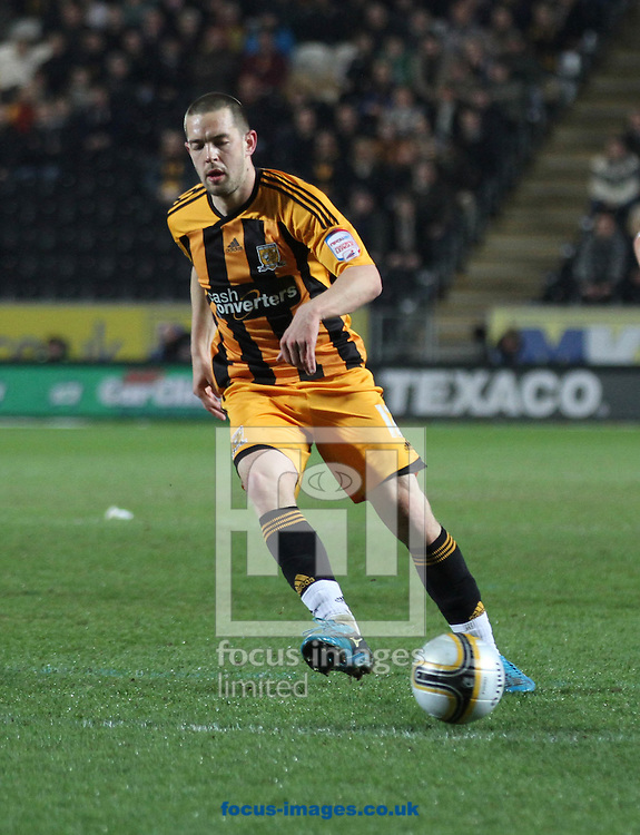 Picture by Richard Gould/Focus Images Ltd. 07710 761829.20/03/12.Matty Fryatt of Hull during the Npower Championship match at KC Stadium, Hull.