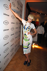 Model AGYNESS DEYNE at the TOD's Art Plus Film Party 2008 hosted by The Whitechapel Art Gallery at a former church at 1 Marylebone Road, London NW1 on 6th March 2008.<br /><br />NON EXCLUSIVE - WORLD RIGHTS