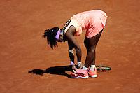 Serena WILLIAMS  - 06.06.2015 - Finale Roland Garros 2015<br />Photo : Nolwenn Le Gouic / Icon Sport