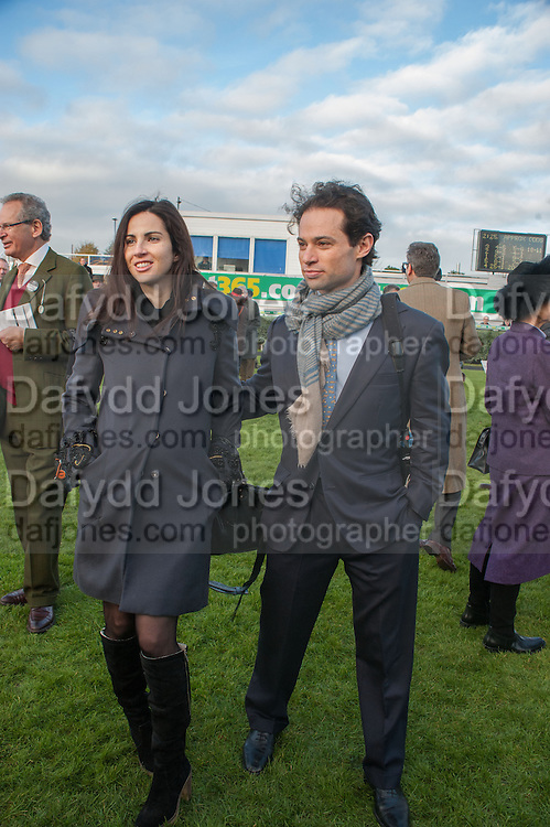 ALEXA WALEY-COHEN; MARCUS WALEY-COHEN, Hennessy Gold Cup, The Racecourse Newbury. 30 November 2013.