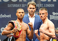 Matchroom Weigh In 290515