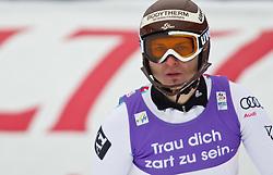 19.02.2011, Gudiberg, Garmisch Partenkirchen, GER, FIS Alpin Ski WM 2011, GAP, Herren, Slalom, im Bild Reinfried Herbst (AUT) // Reinfried Herbst (AUT) during Men's Slalom Fis Alpine Ski World Championships in Garmisch Partenkirchen, Germany on 20/2/2011. EXPA Pictures © 2011, PhotoCredit: EXPA/ J. Groder