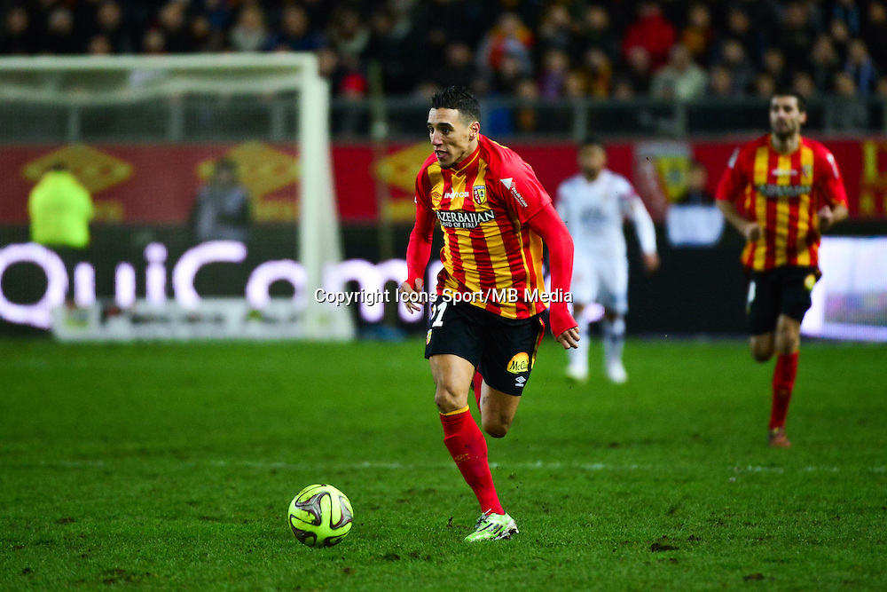 Alharbi EL JADEYAOUI - 17.01.2015 - Lens / Lyon - 21eme journee Ligue 1<br />