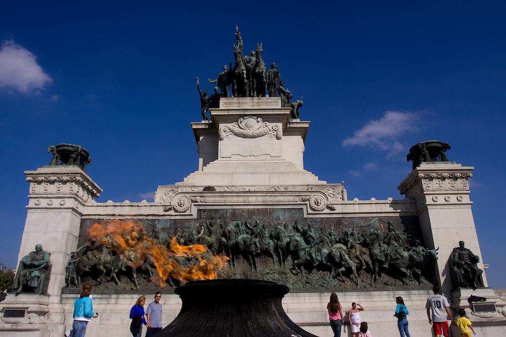 Sao Paulo_SP, Brasil...Monumento da Independencia no Parque da Independencia em Sao Paulo...Independence Monument, at Independence Park in Sao Paulo...Foto: MARCUS DESIMONI / NITRO
