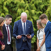 20.11.2016           <br /> Winners of the 2016 All Ireland Scholarships were commended by Rugby Legend, Paul O'Connell at an awards ceremony at the University of Limerick. <br />  Sponsored by JP McManus, the educational scheme is set to provide financial assistance to many high achieving students who completed their Leaving Certificat/A Level examinations in 2016. <br /> <br /> Attending the awards ceremony were, scholarship recipients, Chloe Carrick, Ballinasloe Co. Galway, James McDonnell, Middleton Co. Cork, Eimear McErlane, The Loup Co. Derry,  and Conor Gaffney, Wexford Town with Paul O'Connell. Picture: Alan Place