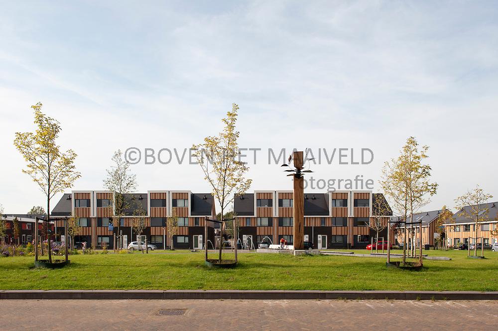 Zicht op Velveplein Enschede