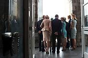 Viering van 200 jaar van het Koninkrijk der Nederland in Maastricht met ondertekening van het gastenboek in het stadhuis / Celebration of 200 years of the Kingdom of the Netherlands in Maastricht with signing the guest book at the Town Hall.<br /> <br /> op de foto / On the photo:  Groothertogin Maria Teresa en groothertog Henri van Luxemburg, koningin Maxima, koning Willem-Alexander, koning Filip en koningin Mathilde van Belgie, Daniela Schadt, partner van bondspresident Joachim Gauck <br /> <br /> Grand Duchess Maria Teresa and Grand Duke Henri of Luxembourg, Queen Maxima, King Willem-Alexander, King Philip and Queen Mathilde of Belgium, Daniela Schadt, partner of Federal President Joachim Gauck
