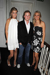 Left to right, KAT ROSE, GUY PELLY and ANNA BARNARD at the launch of Politics and The City - a new web site for women fusing politics with gossip, entertainment, news and fashion, held at the ICA, 12 Carlton House Terrace, London on 8th July 2008.<br /><br />NON EXCLUSIVE - WORLD RIGHTS