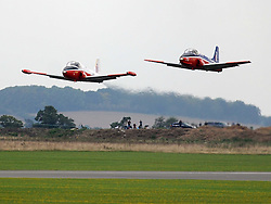 BAC Jet Provost T5, Hunting Percival Jet Proverst, 1950s, The Duxford Air Show, 14th September 2014