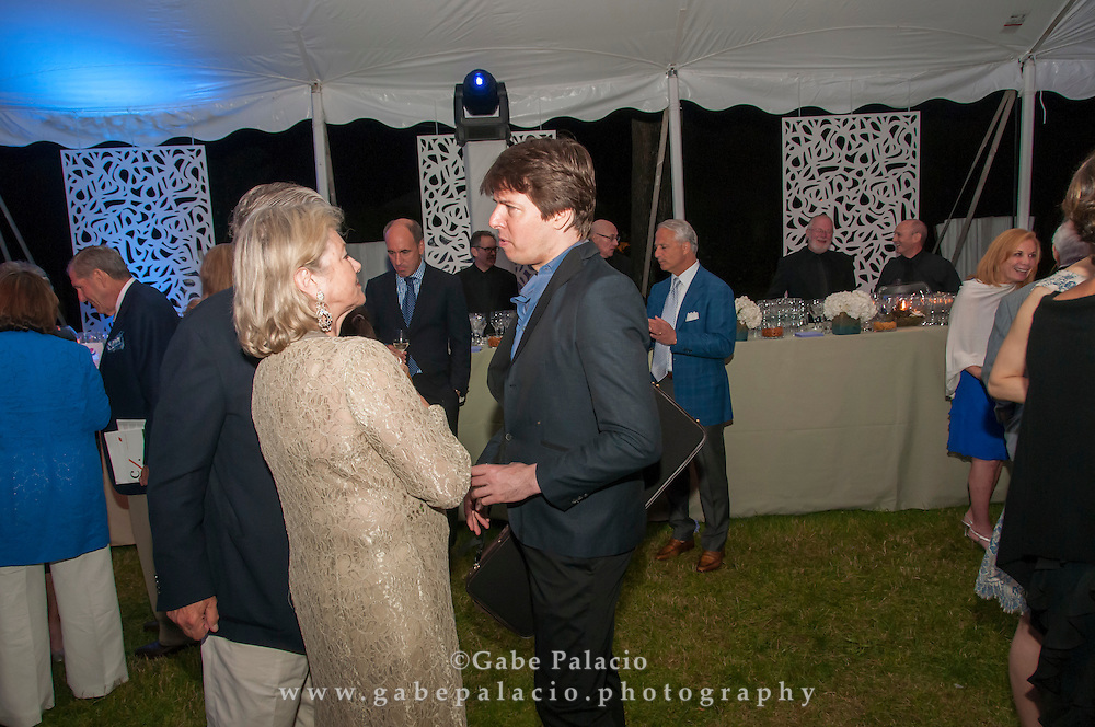 Opening Night gala at Caramoor in Katonah New York on June 21, 2014. <br /> (photo by Gabe Palacio)
