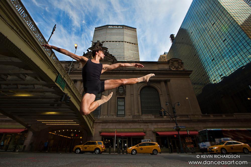 Grand Central 42nd Street Leap- Dance As Art