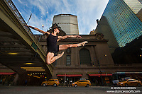 Grand Central 42nd Street Leap- Dance As Art