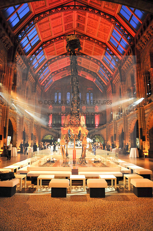 View at the 30 Days of Fashion & Beauty Gala Party sponsored by Boots in aid of Breast Cancer Care held at the Natural History Museum, London on 21st September 2009.