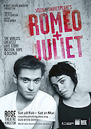 Romeo and Juliet at the Rose Theatre. Director Sally Cookson