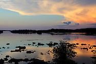 Sunset at Cabot Cruz, Granma Province, Cuba.