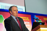 Colman Collins  at the annual SCCUL Enterprise Awards prize giving ceremony and business expo which was hosted by NUI Galway in the Bailey Allen Hall, NUIG. Photo:Andrew Downes