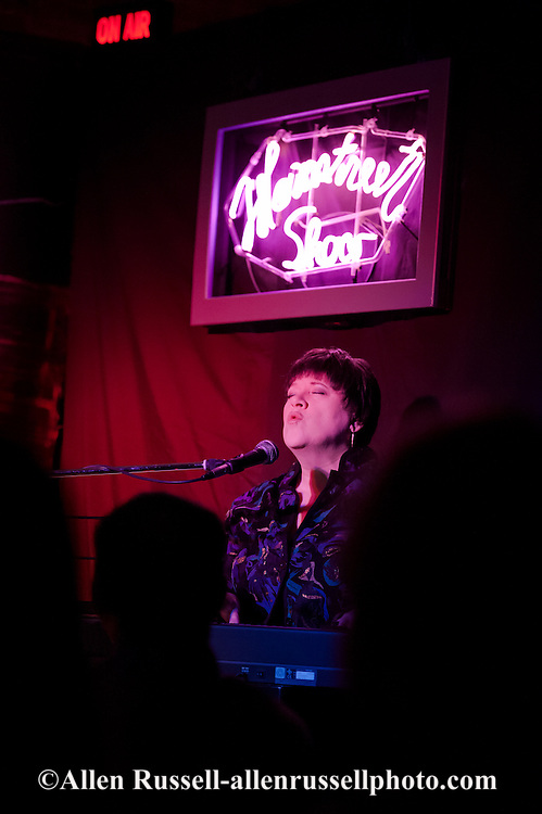 Deb Corbett, performer, singer, Mainstreet Show, Livingston, Montana