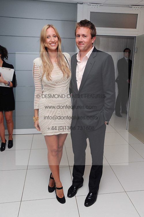 MILES FROST and EMILY FORBES at The Reuben Foundation and Virgin Unite Haiti Fundraising dinner held at Altitude 360 in Millbank Tower, London on 26th May 2010.