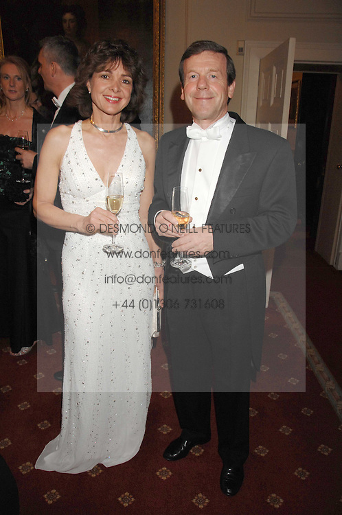 VINCENT BATTY and WILNA WESTENSEE at the 2008 Berkeley Dress Show at the Royal Hospital Chelsea, London on 3rd April 2008.<br /><br />NON EXCLUSIVE - WORLD RIGHTS