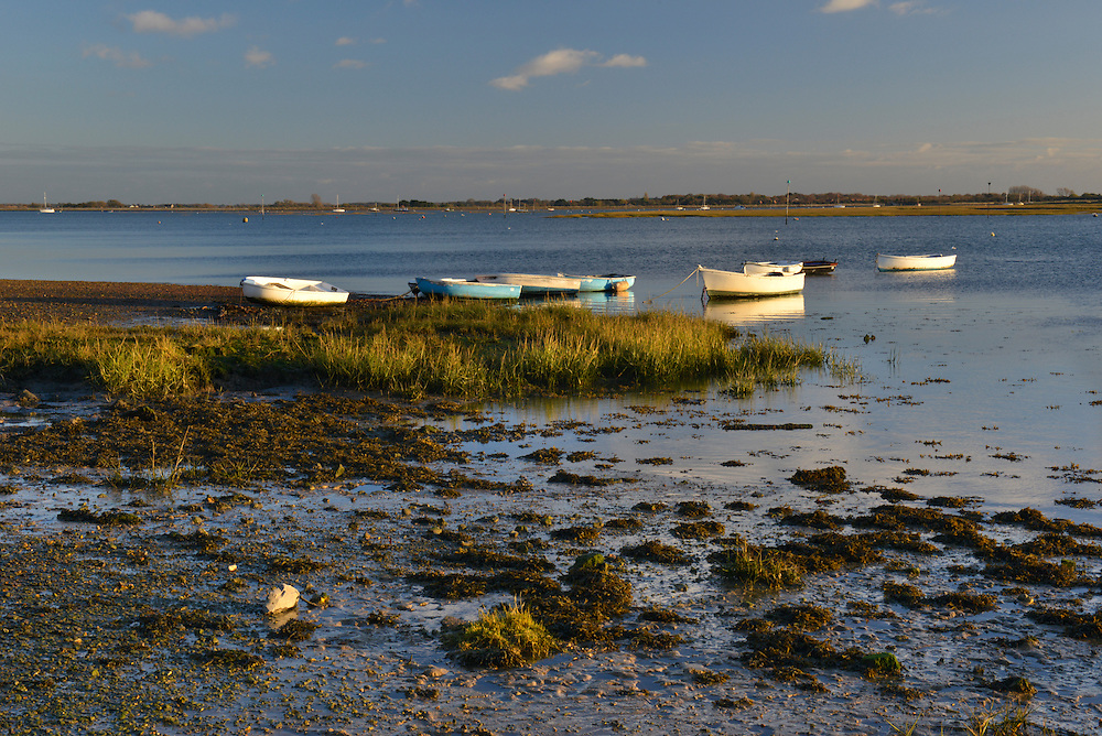 Chichester Harbour and the Emsworth Channel at Emsworth, Hampshire