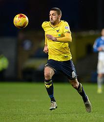 Liam Sercombe of Oxford United - Mandatory byline: Alex James/JMP - 17/01/2016 - FOOTBALL - The Kassam Stadium - Oxford, England - Oxford United v Bristol Rovers - Sky Bet League Two