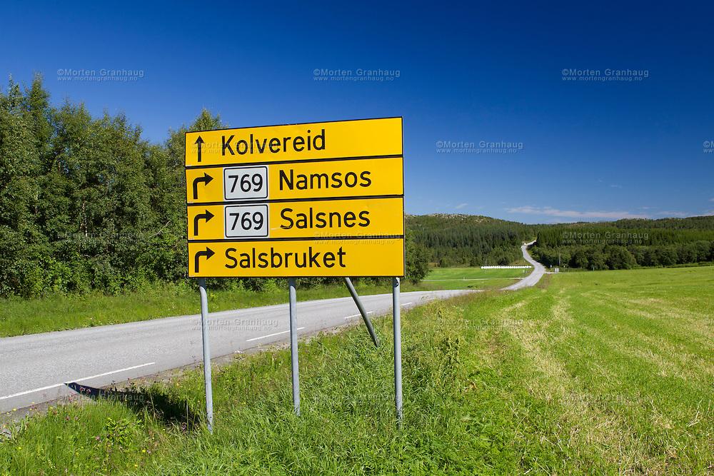 Landskap i Nærøy kommune, Nord-Trøndelag.