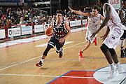 Ruzzier Michele<br /> Dinamica Generale Mantova - Kontatto Bologna<br /> Campionato Basket LNP 2016/2017<br /> Mantova 06/11/2016<br /> Foto Ciamillo-Castoria