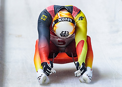 11.02.2018, Olympic Sliding Centre, Pyeongchang, KOR, PyeongChang 2018, Rodeln, Herren, 4. Lauf, im Bild Felix Loch (GER) // Felix Loch of Germany during the Men's Luge Singles Run 4 competition at the Olympic Sliding Centre in Pyeongchang, South Korea on 2018/02/11. EXPA Pictures © 2018, PhotoCredit: EXPA/ Johann Groder