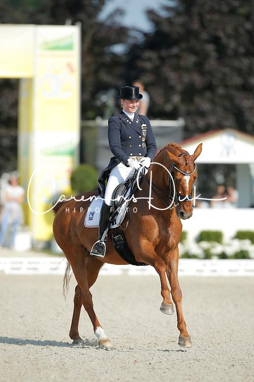 Rothenberger Sanneke, (GER), Wolke Sieben 21 <br /> Grand Prix U25<br /> CDIO Hagen 2015<br /> &copy; Hippo Foto - Stefan Lafrentz<br /> 11/07/15