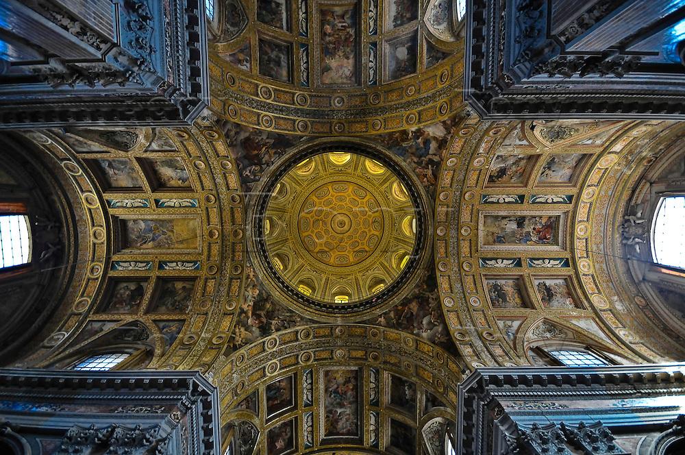 Ges&ugrave; Nuovo's church, Naples, Italy<br /> It is certainly the most important church built by Jesuits in Naples<br /> <br /> Eglise Ges&ugrave; Nuovo &agrave; Naple.<br /> Il s'agit certainement de l'&eacute;glise la plus importante construite par les j&eacute;suites &agrave; Naples