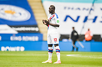 LEICESTER, ENGLAND - JULY 04: Mamadou Sakho of Crystal Palace ahead of the Premier League match between Leicester City and Crystal Palace at The King Power Stadium on July 4, 2020 in Leicester, United Kingdom. Football Stadiums around Europe remain empty due to the Coronavirus Pandemic as Government social distancing laws prohibit fans inside venues resulting in all fixtures being played behind closed doors. (Photo by MB Media)