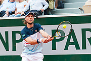 Andreas seppi (ita) during the Roland Garros French Tennis Open 2018, day 2, on May 28, 2018, at the Roland Garros Stadium in Paris, France - Photo Pierre Charlier / ProSportsImages / DPPI