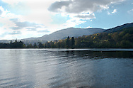 An early spring view over Coniston Water, Lake District National Park, Cumbria, UK