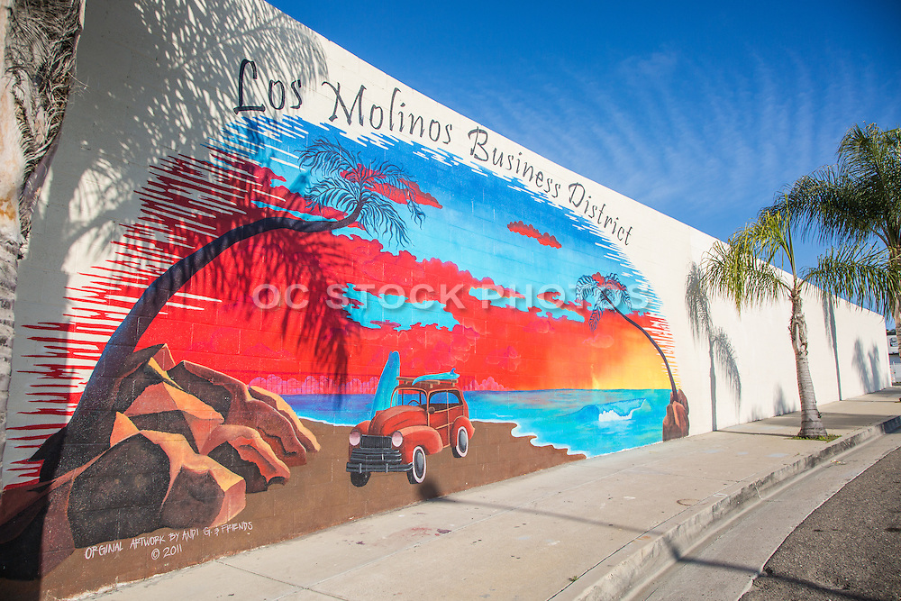 Los Molinos Business District San Clemente