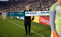 LOS ANGELES, USA - Monday, May 28, 2018: Wales' head of international affairs Mark Evans after an international friendly between Mexico and Wales at the Rose Bowl. (Pic by David Rawcliffe/Propaganda)