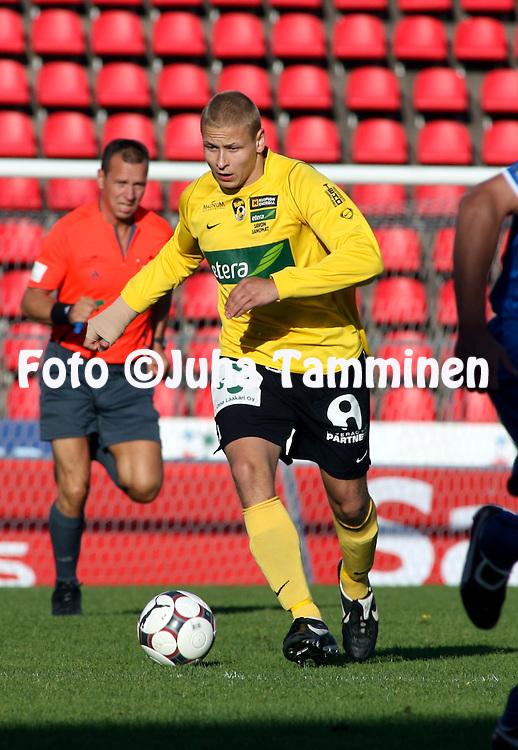 26.06.2008, Ratina, Tampere, Finland..Veikkausliiga 2008 - Finnish League 2008.Tampere United - Kuopion Palloseura.Pele Koljonen - KuPS.©Juha Tamminen.....ARK:k