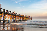 Newport Beach Pier at Sunrise