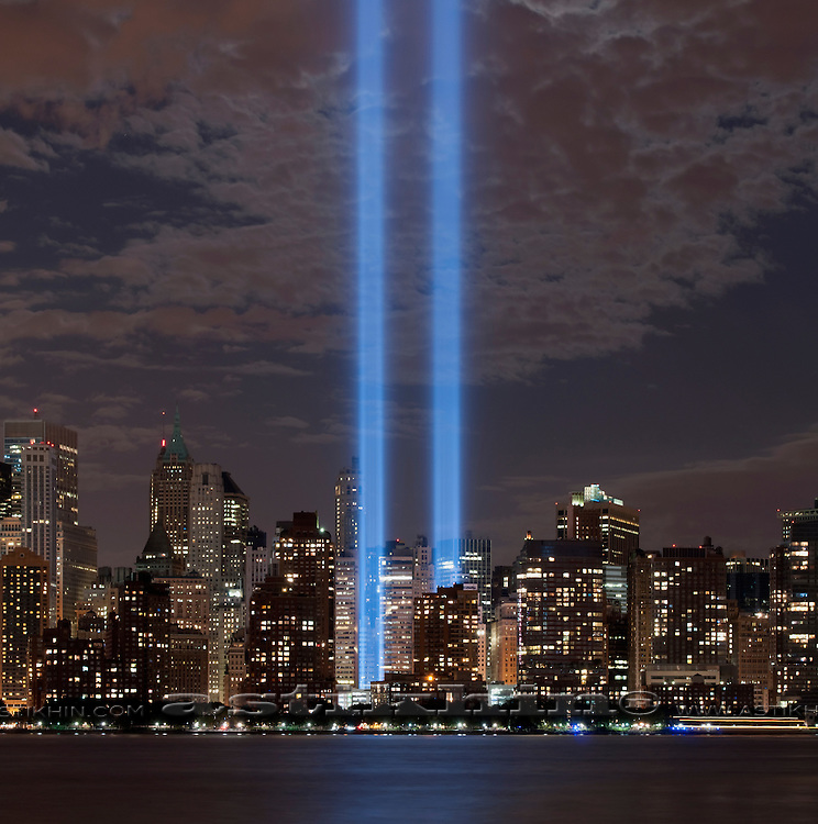 Manhattan and memory of September 2001