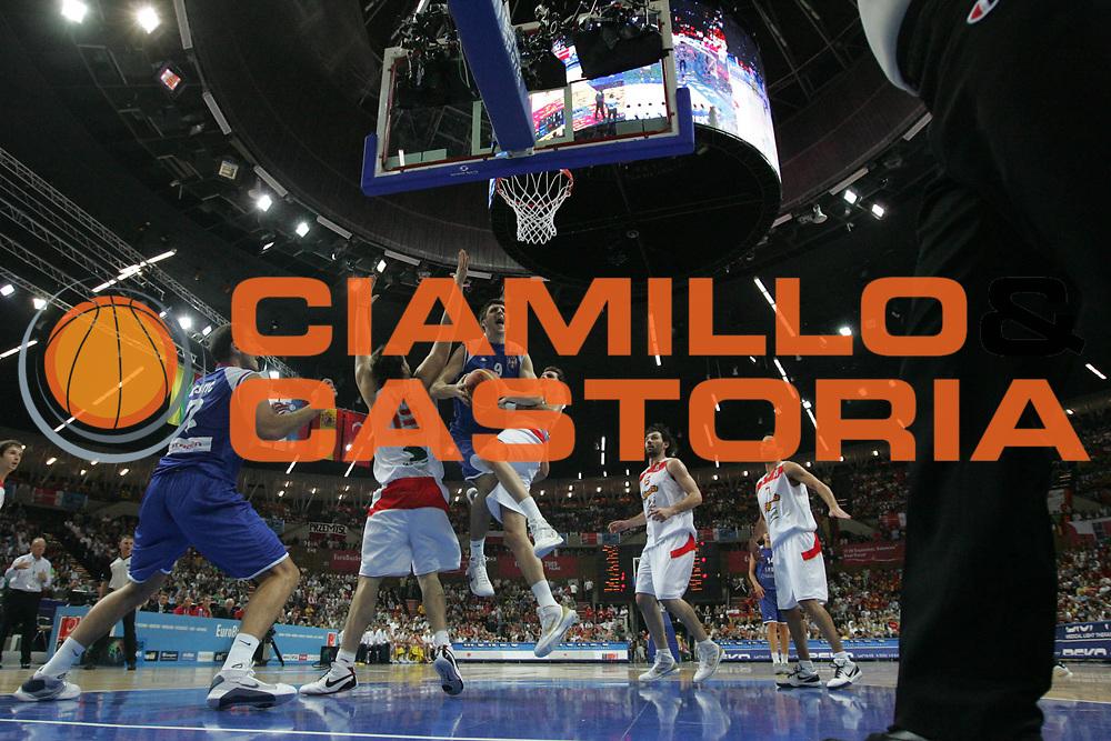 DESCRIZIONE : Katowice Poland Polonia Eurobasket Men 2009 Finale 1 2 posto Final 1st 2nd place Spagna Spain Serbia<br /> GIOCATORE : Stefan Markovic<br /> SQUADRA : Serbia<br /> EVENTO : Eurobasket Men 2009<br /> GARA : Spagna Spain Serbia<br /> DATA : 20/09/2009 <br /> CATEGORIA : special<br /> SPORT : Pallacanestro <br /> AUTORE : Agenzia Ciamillo-Castoria/E.Castoria<br /> Galleria : Eurobasket Men 2009 <br /> Fotonotizia : Katowice  Poland Polonia Eurobasket Men 2009 Finale 1 2 posto Final 1st 2nd place Spagna Spain Serbia<br /> Predefinita :