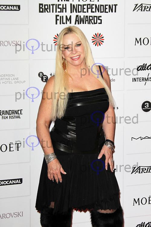 LONDON - DECEMBER 09: Pamela Stevenson attended The British Independent Film Awards at the Old Billingsgate Market, London, UK. December 09, 2012. (Photo by Richard Goldschmidt)
