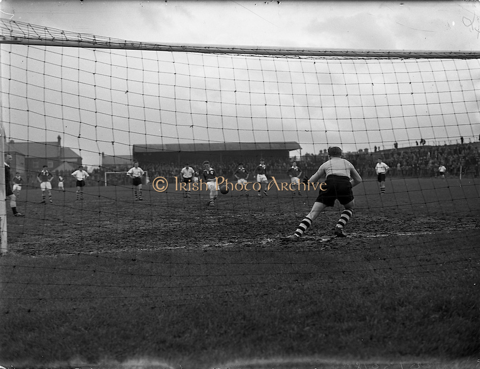 24/05/1958<br /> 05/24/1958<br /> 24 May 1958<br /> Soccer, Schoolboy International: England v Ireland at Dalymount Park, Dublin.