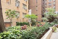 Garden at 304 West 75th Street
