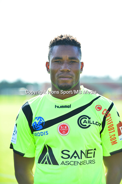 Kossi AGASSA - 28.09.2015 - Photo officielle Reims - Ligue 1<br /> Photo : Dave Winter / Icon Sport