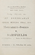 Munster Senior Hurling Championship Final, 16.07.1944, 07.16.1944, 16th July 1944, .07161944MSHCF..Cork v Limerick,...