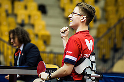 VAN EMBURGH Jenson of USA during SPINT 2018 Table Tennis world championship for the Disabled, Day One, on October 16th, 2018, in Dvorana Zlatorog, Celje, Slovenia. . Photo by Grega Valancic / Sportida