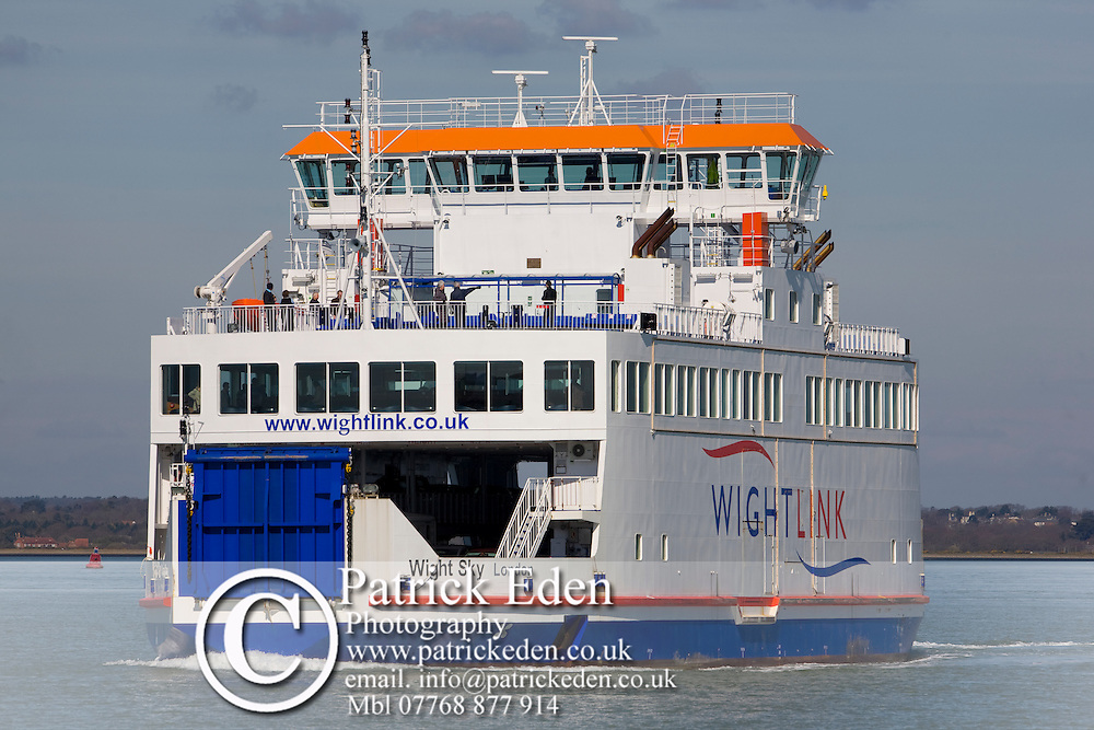 New, Car Wight Link, Ferry, Pier, lifebelt, Yarmouth, Isle of Wight, England, UK, Photographs of the Isle of Wight by photographer Patrick Eden photography photograph canvas canvases