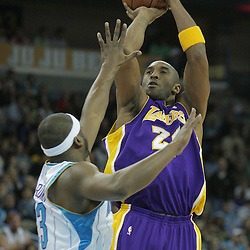 12-23 Lakers at Hornets
