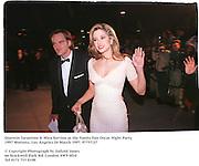 Quentin Tarantino & Mira Sorvino at the Vanity Fair Oscar Night Party. 1997 Mortons, Los Angeles 24 March 1997. 97757/27<br /><br />© Copyright Photograph by Dafydd Jones<br />66 Stockwell Park Rd. London SW9 0DA<br />Tel 0171 733 0108